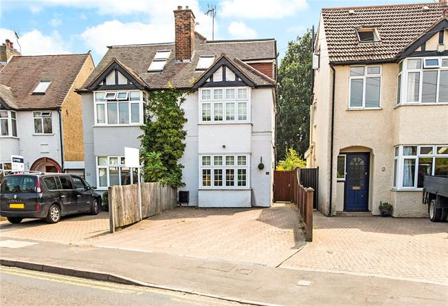 Guide Price £600,000, 5 Bedroom Semi Detached House For Sale in St. Albans, AL4