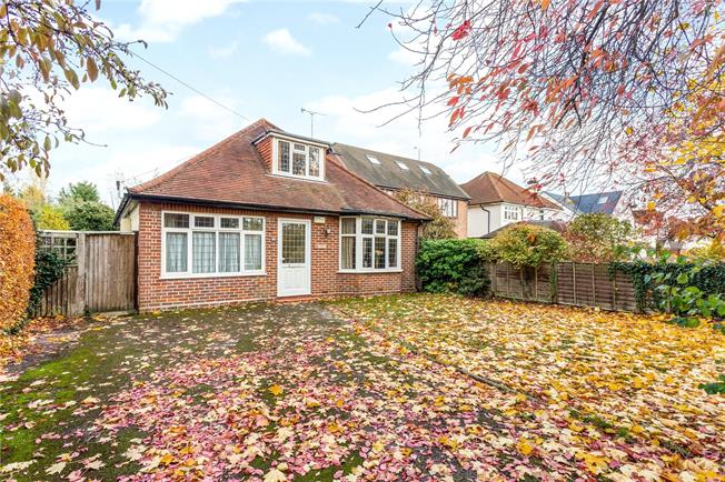 Guide Price £1,175,000, 3 Bedroom Bungalow For Sale in Hertfordshire, AL1