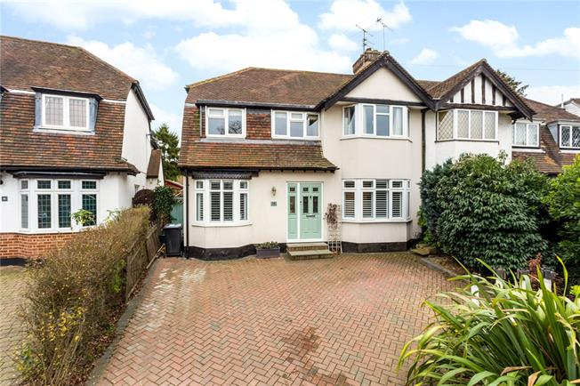 Guide Price £995,000, 4 Bedroom Semi Detached House For Sale in St. Albans, AL1
