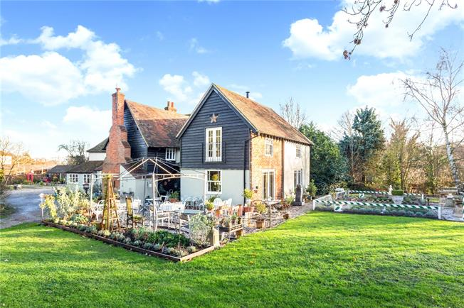 Guide Price £1,750,000, 5 Bedroom Detached House For Sale in Ware, Hertfordshire, SG11