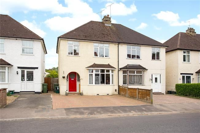 Guide Price £525,000, 3 Bedroom Semi Detached House For Sale in Hertfordshire, AL1
