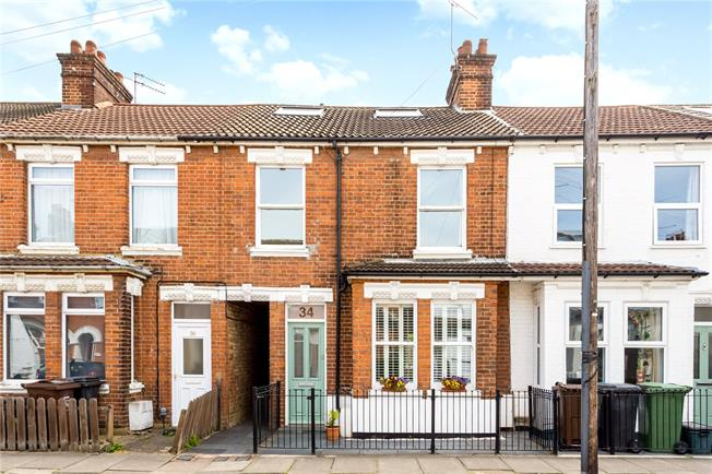 Guide Price £800,000, 4 Bedroom Terraced House For Sale in Hertfordshire, AL1