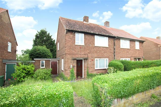 Asking Price £400,000, 3 Bedroom Semi Detached House For Sale in St. Albans, AL1