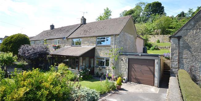 Guide Price £360,000, 3 Bedroom Semi Detached House For Sale in Oakridge Lynch, GL6