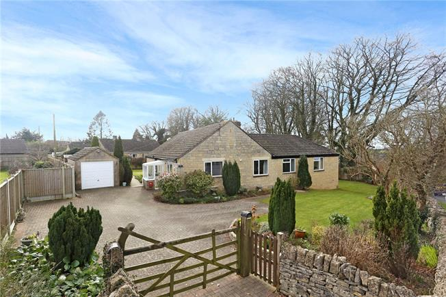 Guide Price £475,000, 4 Bedroom Bungalow For Sale in Gloucestershire, GL6
