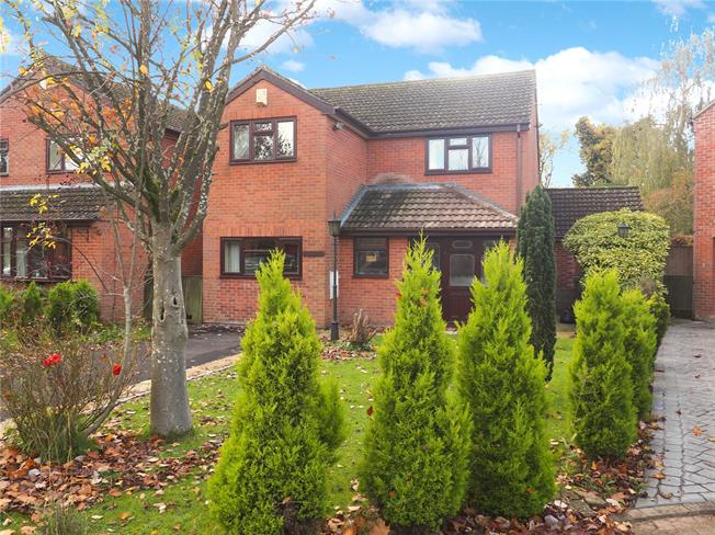 Guide Price £575,000, 4 Bedroom Detached House For Sale in Gloucester, Gloucestershi, GL2