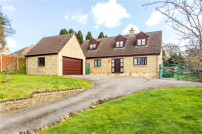 Guide Price £550,000, 4 Bedroom Detached House For Sale in Gloucestershire, GL5