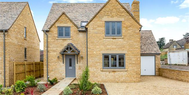 Guide Price £475,000, 3 Bedroom Detached House For Sale in Nympsfield, Gloucestershi, GL10