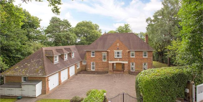 Offers in excess of £2,999,950, 5 Bedroom Detached House For Sale in St. Georges Hill, KT13