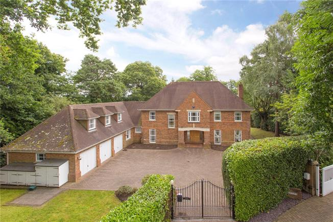 Guide Price £2,999,950, 5 Bedroom Detached House For Sale in St. Georges Hill, KT13