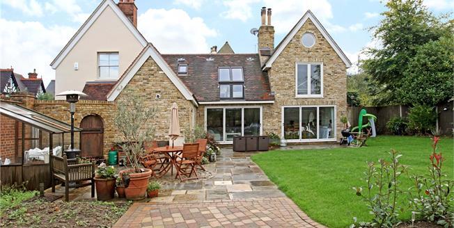 Asking Price £1,550,000, 4 Bedroom Detached House For Sale in Weybridge, KT13