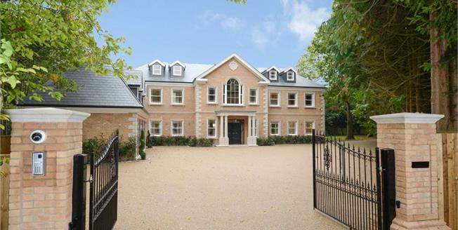 Guide Price £4,300,000, 7 Bedroom Detached House For Sale in Hersham, KT12