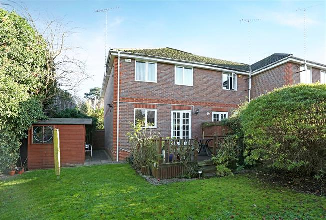Offers in excess of £450,000, 3 Bedroom Semi Detached House For Sale in Weybridge, Surrey, KT13