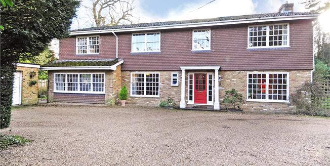 Asking Price £1,395,000, 5 Bedroom Detached House For Sale in Weybridge, KT13