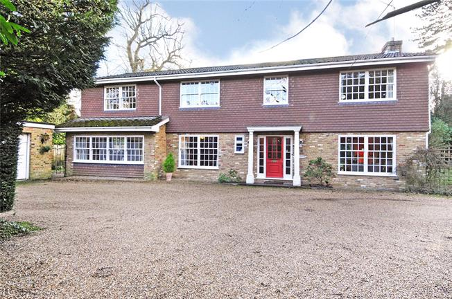 Offers in excess of £1,500,000, 5 Bedroom Detached House For Sale in Weybridge, KT13