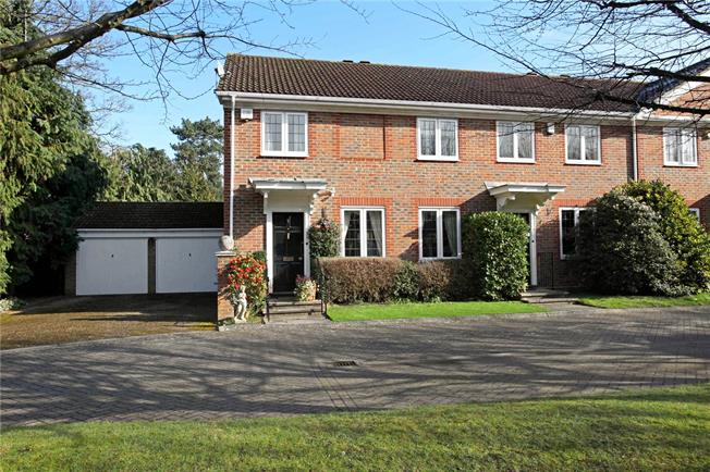 Asking Price £795,000, 4 Bedroom For Sale in Surrey, KT13