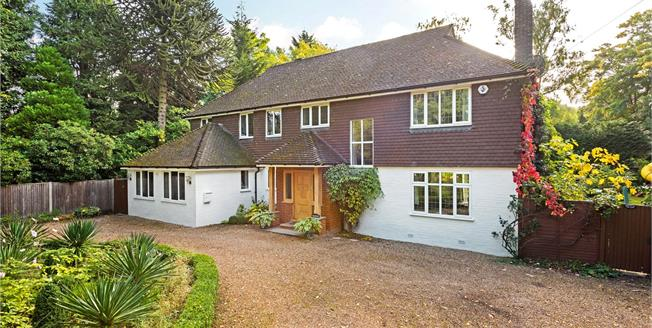 Asking Price £1,475,000, 5 Bedroom Detached House For Sale in Woking, GU22