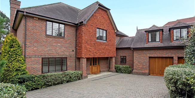 Asking Price £2,450,000, 6 Bedroom Detached House For Sale in Surrey, KT13