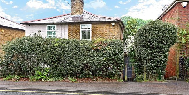Asking Price £575,000, 3 Bedroom Semi Detached House For Sale in Weybridge, KT13