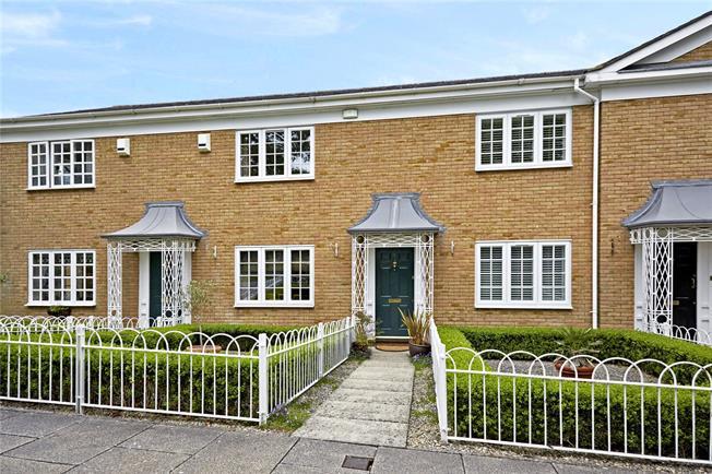 Asking Price £450,000, 2 Bedroom Terraced House For Sale in Weybridge, KT13