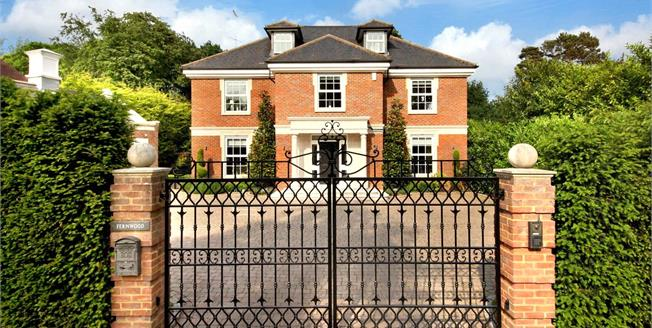 Offers in the region of £2,295,000, 5 Bedroom Detached House For Sale in Weybridge, KT13