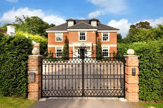 Offers in the region of £2,295,000, 5 Bedroom Detached House For Sale in Weybridge, KT13