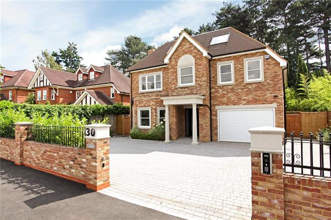 Asking Price £2,495,000, 6 Bedroom Detached House For Sale in Surrey, KT13