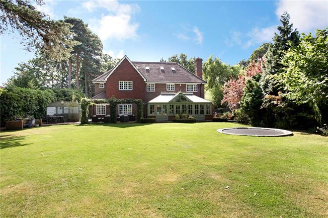 Asking Price £1,695,000, 7 Bedroom Detached House For Sale in Woking, GU22