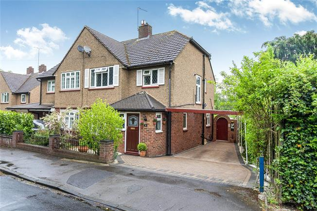 Asking Price £525,000, 3 Bedroom Semi Detached House For Sale in Weybridge, KT13