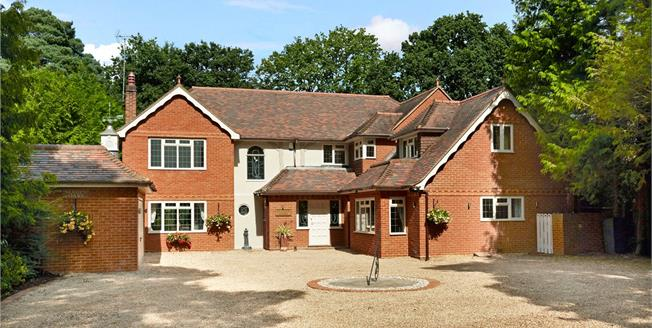 Asking Price £1,395,000, 6 Bedroom Detached House For Sale in Surrey, KT14