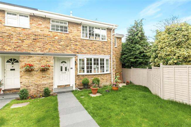 Asking Price £795,000, 4 Bedroom Semi Detached House For Sale in Weybridge, KT13