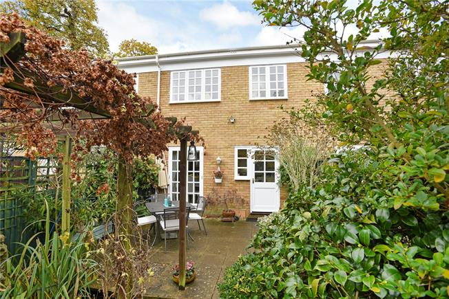 Asking Price £495,000, 2 Bedroom Terraced House For Sale in Surrey, KT13
