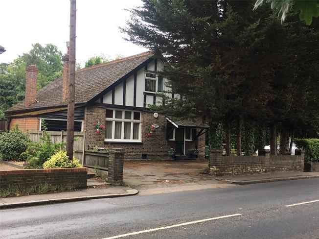 Guide Price £950,000, Land For Sale in Weybridge, KT13