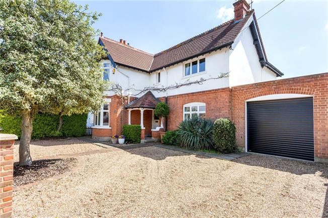 Offers in excess of £1,000,000, 4 Bedroom Detached House For Sale in Sunbury-on-Thames, TW16