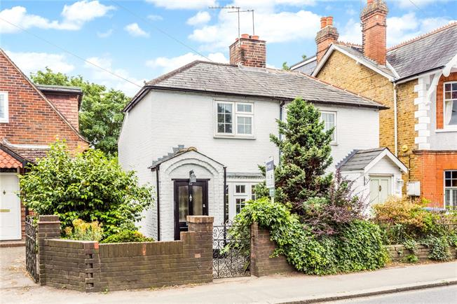 Asking Price £439,950, 2 Bedroom Semi Detached House For Sale in Hersham, KT12