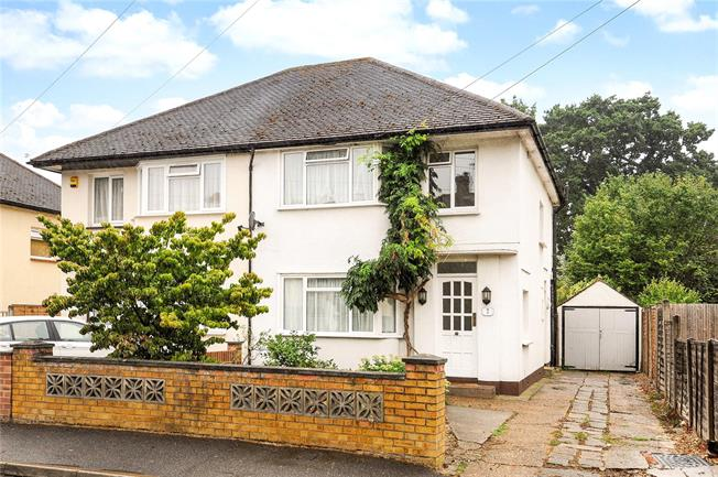 Offers in excess of £400,000, 3 Bedroom Semi Detached House For Sale in Addlestone, KT15