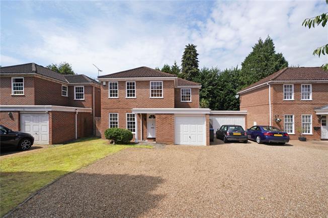 Offers in excess of £900,000, 4 Bedroom Detached House For Sale in Weybridge, KT13