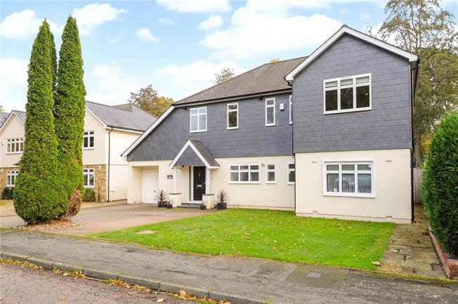 Asking Price £1,395,000, 6 Bedroom Detached House For Sale in Hersham, KT12