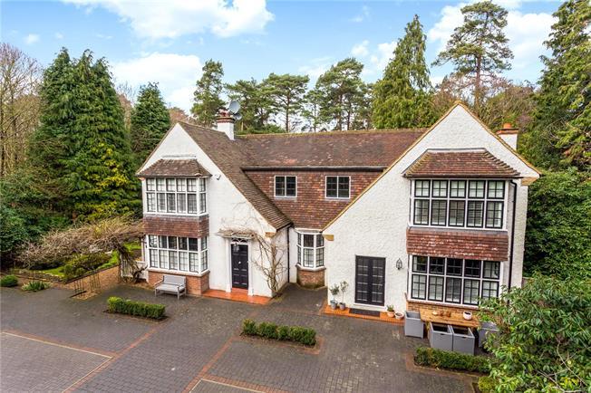 Asking Price £1,550,000, 5 Bedroom Detached House For Sale in Woking, GU21