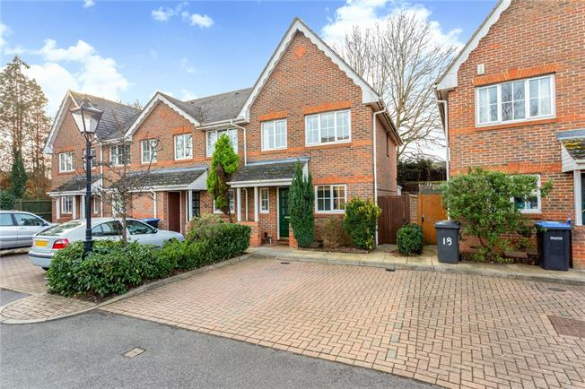 Asking Price £400,000, 3 Bedroom End of Terrace House For Sale in Addlestone, KT15
