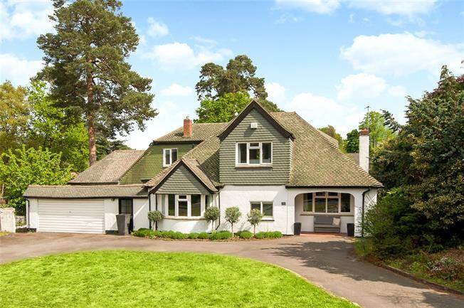 Offers in excess of £1,500,000, 4 Bedroom Detached House For Sale in Weybridge, KT13