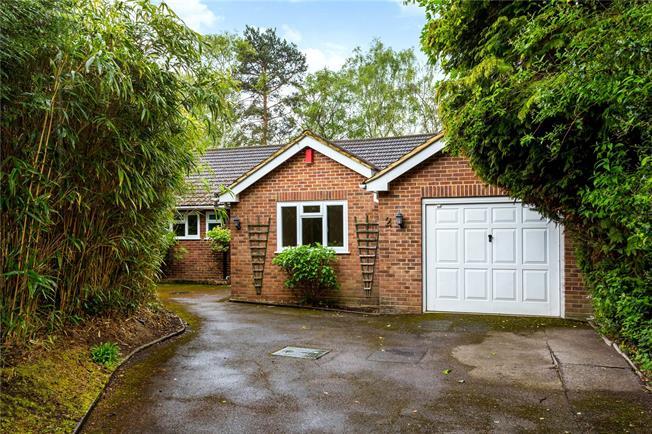 Guide Price £825,000, 3 Bedroom Bungalow For Sale in Weybridge, KT13