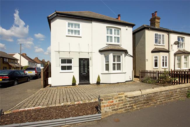 Offers in excess of £800,000, 4 Bedroom Detached House For Sale in Walton-on-Thames, KT12