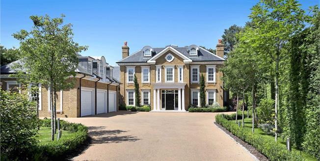 Guide Price £4,500,000, 6 Bedroom Detached House For Sale in Hersham, KT12