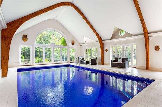 Asking Price £4,350,000, 6 Bedroom Detached House For Sale in Hersham, KT12