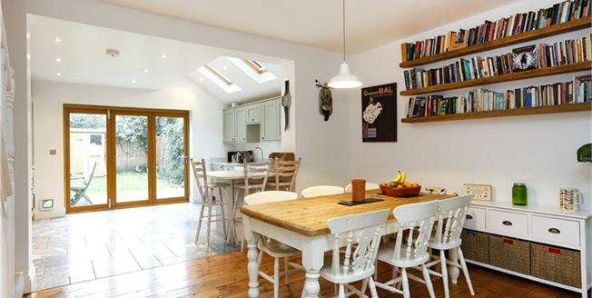 Guide Price £925,000, 2 Bedroom Terraced House For Sale in London, SW14