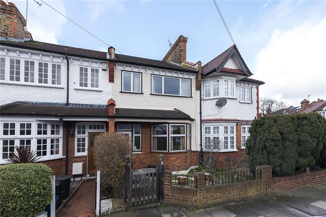 Guide Price £720,000, 2 Bedroom Terraced House For Sale in London, SW14