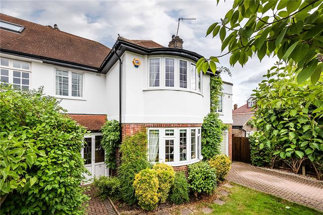 Guide Price £2,000,000, 5 Bedroom Semi Detached House For Sale in London, SW14