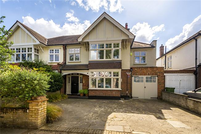 Guide Price £2,200,000, 4 Bedroom Semi Detached House For Sale in London, SW14