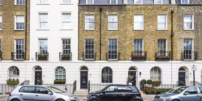 Asking Price £6,850,000, 4 Bedroom Terraced House For Sale in London, SW1W